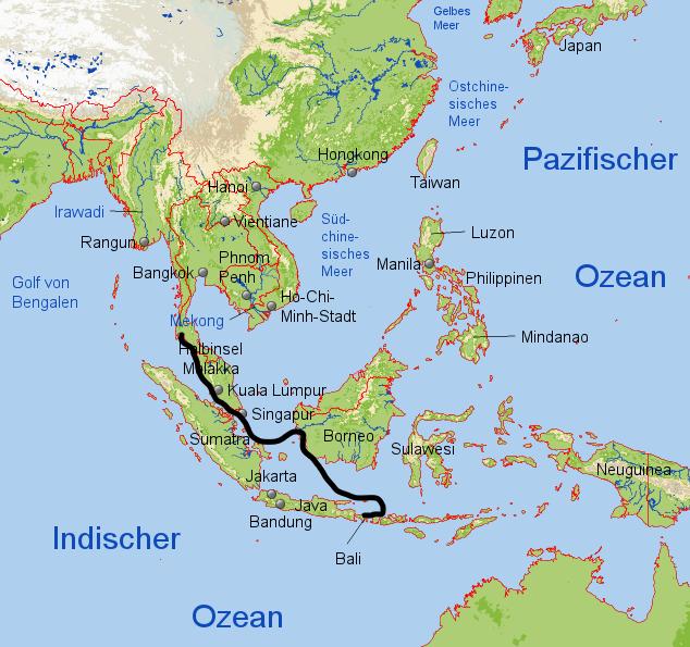Karte SE Asien (2)